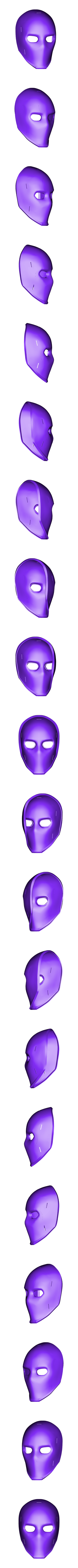 Wild Card Clubs Mask.stl Download STL file Wild Card Masks Fortnite  • 3D print model, VillainousPropShop