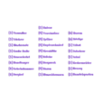 IntrigeSchrift.stl Download free STL file Name Labels / Tags for Dominion Card Cases (German) (Namenschilder Deutsch) • 3D print model, plokr
