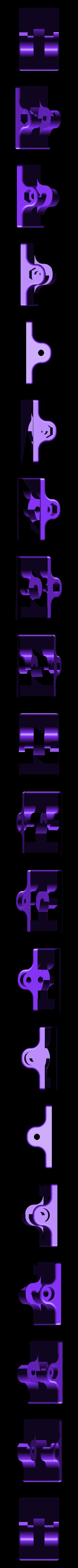 Mount.stl Télécharger fichier STL gratuit Fermeture de fenêtre élégante (ne nécessite pas de trous dans le cadre de la fenêtre) • Modèle pour imprimante 3D, kumekay