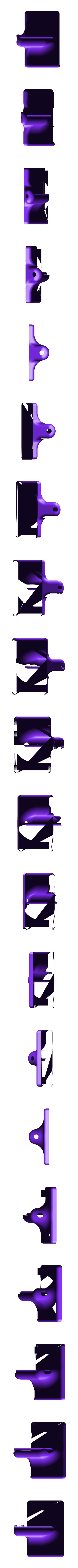 hook.stl Télécharger fichier STL gratuit Fermeture de fenêtre élégante (ne nécessite pas de trous dans le cadre de la fenêtre) • Modèle pour imprimante 3D, kumekay