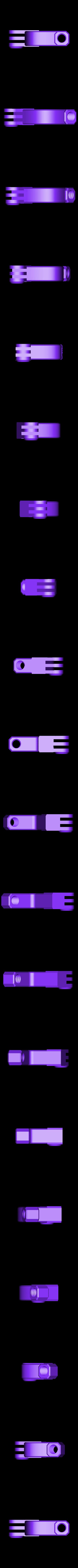 HeadPhonestand_Clamp_Black.STL Télécharger fichier STL gratuit Support d'écouteurs multicolore • Objet pour imprimante 3D, MosaicManufacturing