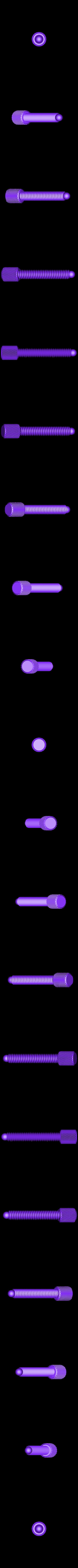 HeadPhonestand_Clamp_Screw_Black.STL Télécharger fichier STL gratuit Support d'écouteurs multicolore • Objet pour imprimante 3D, MosaicManufacturing