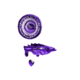 BTLC_Rain1.stl Download free STL file Three Storms - Big Trouble in Little China • 3D printable design, mag-net