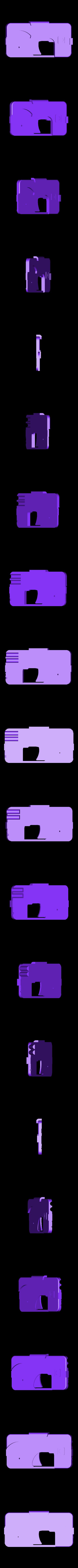 IGun6_Body2.stl Download free STL file Phone Gun • 3D printer object, Snorri