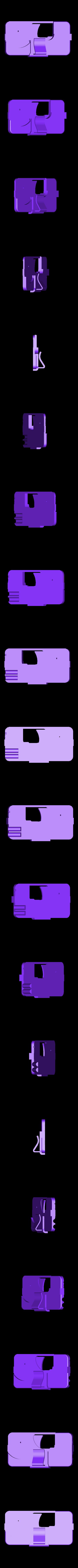 IGun6_Body1.stl Download free STL file Phone Gun • 3D printer object, Snorri