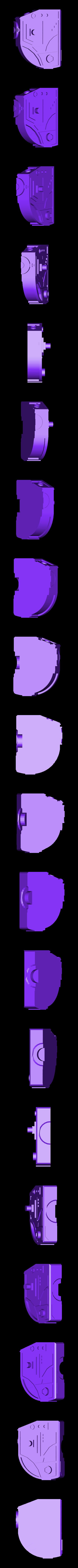 Mech_Face2.stl Download free STL file Mech Warrior • 3D print object, Snorri