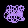 Pendentif002.stl Télécharger fichier STL gratuit Pendentif Viking Style Urnes - numéro 2 • Objet à imprimer en 3D, Snorri