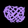 Pendentif001.stl Download free STL file Viking pendant Urnes Style • 3D printing template, Snorri