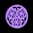 BL_SideCircle3.stl Download free STL file XVTh century Book case • 3D printable model, Snorri