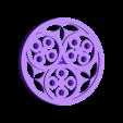 BL_SideCircle1.stl Download free STL file XVTh century Book case • 3D printable model, Snorri