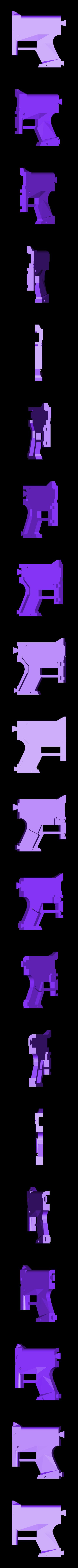 2_Pulserifle_Body2.stl Download free STL file Pulse Rifle • 3D printer template, Snorri