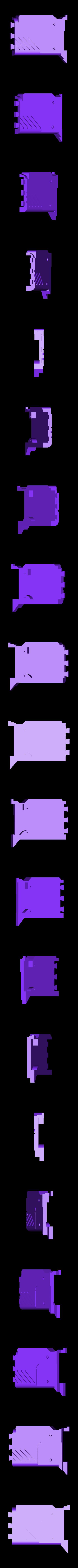4_Pulserifle_Body4.stl Download free STL file Pulse Rifle • 3D printer template, Snorri
