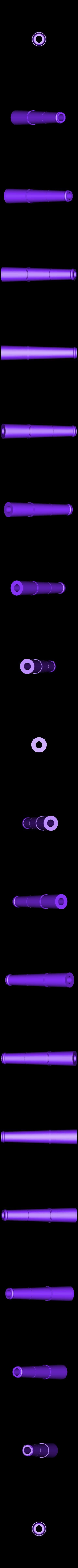 7_DuckfootGun_Barrel_PRINTX4.stl Download free STL file Duck's foot gun • Object to 3D print, Snorri
