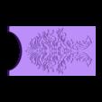 6_DuckfootGun_DecoPlate_PRINTX2.stl Download free STL file Duck's foot gun • Object to 3D print, Snorri