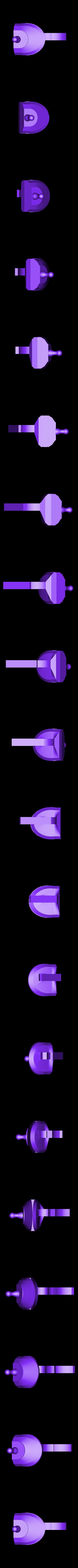 3_DuckfootGun_Striker.stl Download free STL file Duck's foot gun • Object to 3D print, Snorri
