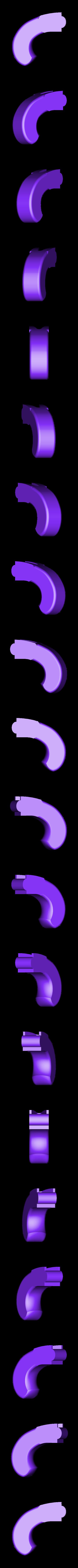 1_DuckfootGun_Handle.stl Download free STL file Duck's foot gun • Object to 3D print, Snorri