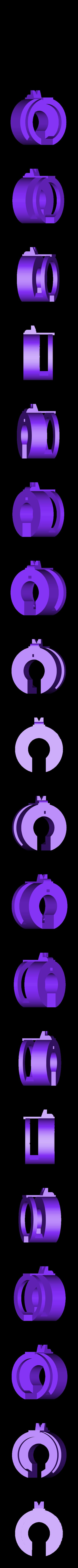 004_Harkonnen_BarrelBack.stl Download free OBJ file Hellsing ARMS Anti-Tank Cannon - Harkonnen - Airsoft grenade launcher • 3D printing design, Snorri