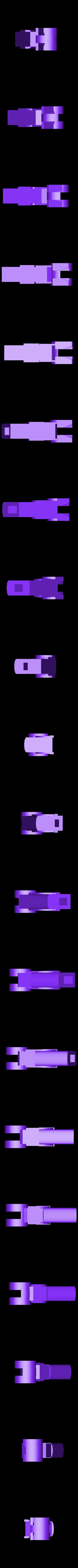 006_Harkonnen_Body1.stl Download free OBJ file Hellsing ARMS Anti-Tank Cannon - Harkonnen - Airsoft grenade launcher • 3D printing design, Snorri