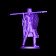 Viking_Spearman_by_Snorri.OBJ Download free OBJ file Viking Spearman • 3D printer template, Snorri