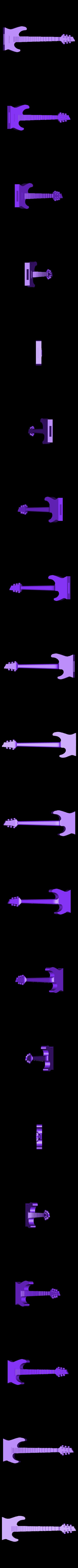 Guitar top.stl Télécharger fichier STL gratuit Boîtier USB 1 • Modèle pour imprimante 3D, Hectdiaf