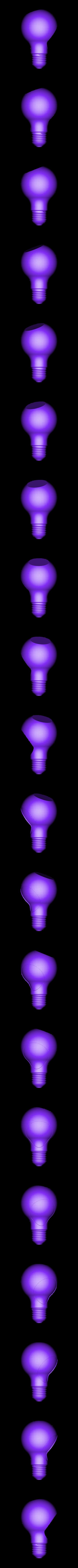 JX bulb.STL Download STL file Bulb Pot • 3D printable design, Dekro