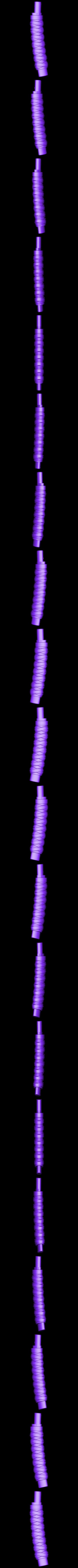 Katana_Handle.stl Download free STL file Training Mini Katana • 3D printer model, mrhers2
