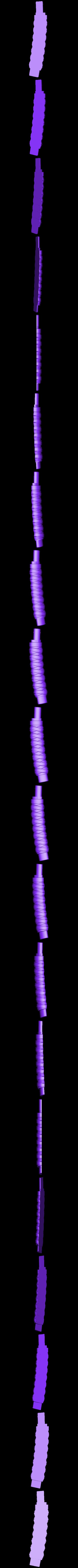 Katana_Handle_Right_Half.stl Download free STL file Training Mini Katana • 3D printer model, mrhers2