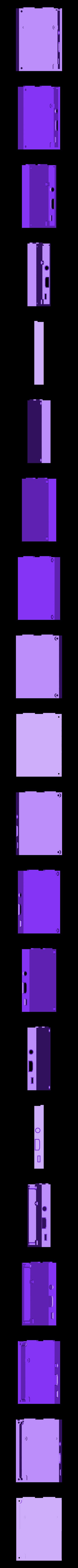 SNES_bottom.stl Download free STL file Super Nintendo Raspberry Pi Case • 3D print design, arron_mollet22