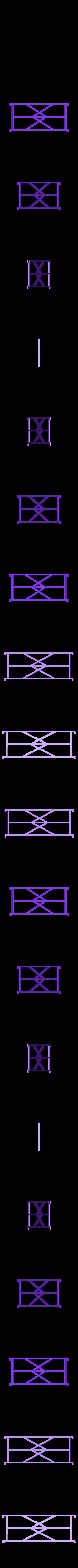 Tueten-Lager-separator.stl Download free STL file Customizable Compartment Skeleton Frame • 3D printing template, dede67