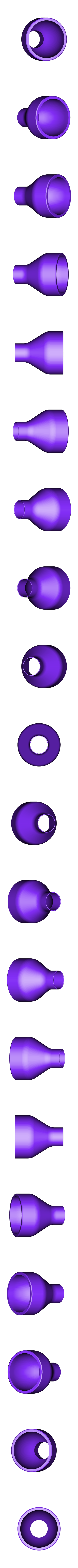Bottom.stl Download free STL file Resin filter funnel using strainer • 3D printing object, 3D-Designs