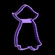 00903 drakula.stl Download OBJ file Dracula cookie cutter for professional • 3D printable template, gleblubin