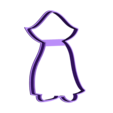00903 drakula_01.obj Download OBJ file Dracula cookie cutter for professional • 3D printable template, gleblubin