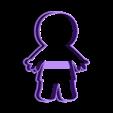 00613 mumia.stl Download OBJ file Mummy cookie cutter for professional • 3D printer design, gleblubin