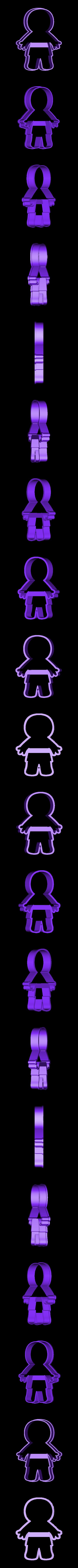 00613 mumia.obj Download OBJ file Mummy cookie cutter for professional • 3D printer design, gleblubin