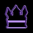 00671 zamok.stl Download OBJ file Castle cookie cutter for professional • 3D printing object, gleblubin
