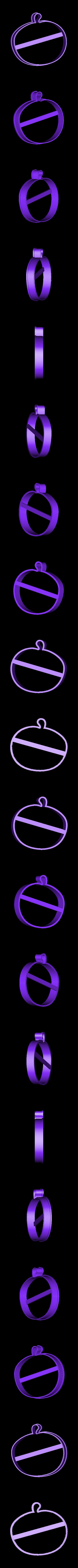 00171 tikva.stl Download OBJ file Pumpkin cookie cutter for professional  • 3D print design, gleblubin
