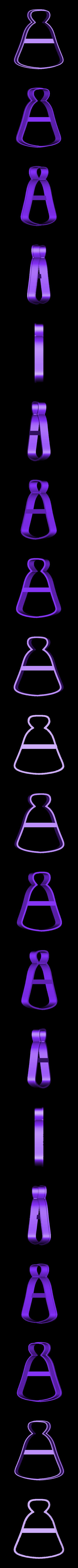 00974 butilochka zelie.obj Download OBJ file Bottle Potion cookie cutter for professional • 3D printer object, gleblubin