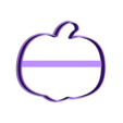 00685 tikva hel.stl Download OBJ file Pumpkin Halloween cookie cutter for professional • 3D printing template, gleblubin