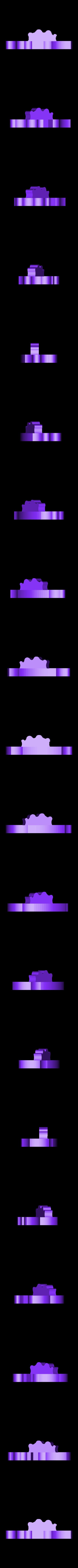 UpLeg.stl Download free STL file Dinosaur Skel for 3D Printer! - Terry the Dinosaur! • 3D printer model, _aalejandrovr24