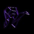 he-goat2.stl Download STL file Goat Wall Sculpture 2D • 3D printer object, UnpredictableLab