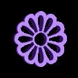 cortante Margerita.stl Download STL file Biscuit Cutter Margarita • 3D printable object, abauerenator