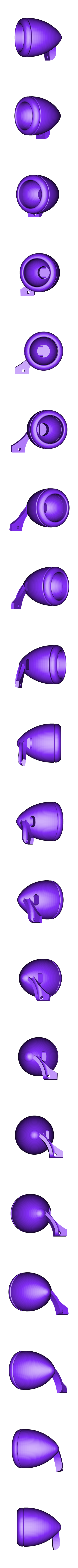 spu34rhsheadlight.stl Download STL file 34' Ford Pickup Hot Rod • 3D printing object, macone1