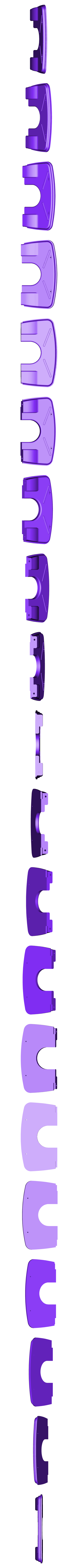 spu34firewall.stl Download STL file 34' Ford Pickup Hot Rod • 3D printing object, macone1
