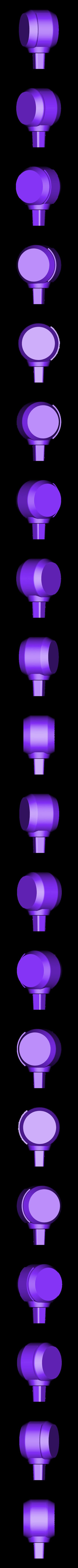 Elbow-Left.stl Download STL file Hammond's Wrecking Ball Mech from Overwatch • 3D printer template, FunbieStudios