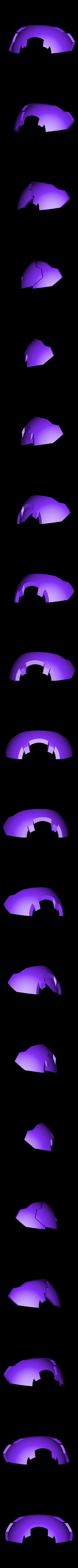 Armor-Rear.stl Download STL file Hammond's Wrecking Ball Mech from Overwatch • 3D printer template, FunbieStudios