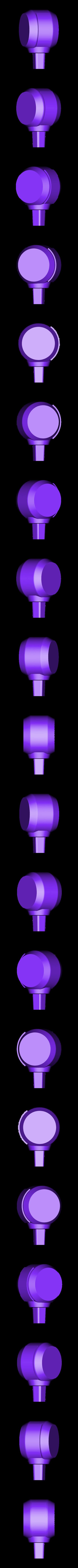 Elbow-Right.stl Download STL file Hammond's Wrecking Ball Mech from Overwatch • 3D printer template, FunbieStudios