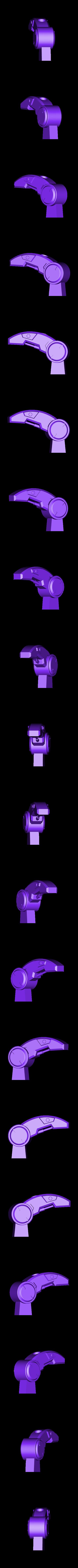 Leg-LeftBack.stl Download STL file Hammond's Wrecking Ball Mech from Overwatch • 3D printer template, FunbieStudios