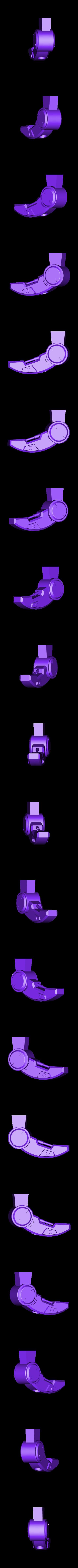Leg-LeftFront.stl Download STL file Hammond's Wrecking Ball Mech from Overwatch • 3D printer template, FunbieStudios