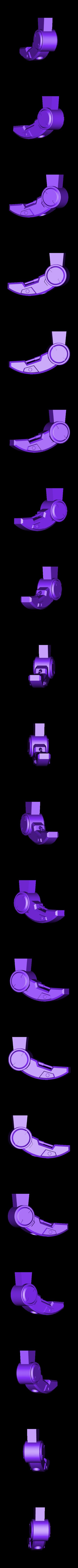 Leg-RightFront.stl Download STL file Hammond's Wrecking Ball Mech from Overwatch • 3D printer template, FunbieStudios