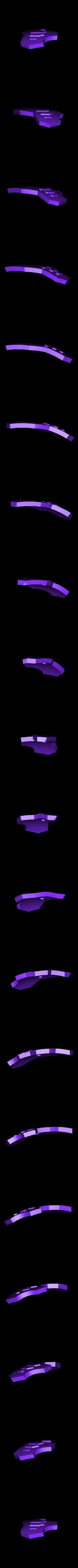 LegShield-RightBack.stl Download STL file Hammond's Wrecking Ball Mech from Overwatch • 3D printer template, FunbieStudios